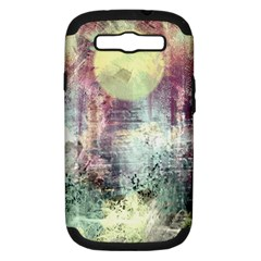 Frosty Pale Moon Samsung Galaxy S Iii Hardshell Case (pc+silicone)