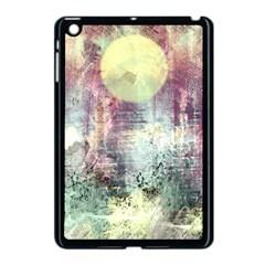 Frosty Pale Moon Apple Ipad Mini Case (black)