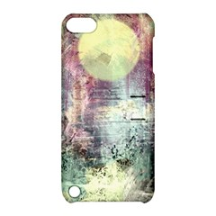 Frosty Pale Moon Apple iPod Touch 5 Hardshell Case with Stand
