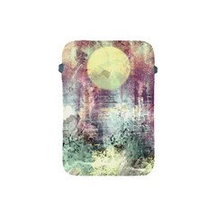 Frosty Pale Moon Apple iPad Mini Protective Soft Cases