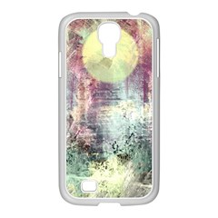 Frosty Pale Moon Samsung GALAXY S4 I9500/ I9505 Case (White)