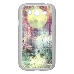 Frosty Pale Moon Samsung Galaxy Grand DUOS I9082 Case (White)