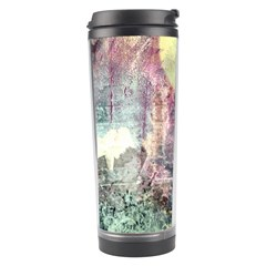 Frosty Pale Moon Travel Tumbler