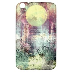 Frosty Pale Moon Samsung Galaxy Tab 3 (8 ) T3100 Hardshell Case