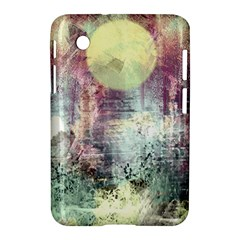 Frosty Pale Moon Samsung Galaxy Tab 2 (7 ) P3100 Hardshell Case