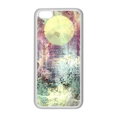 Frosty Pale Moon Apple iPhone 5C Seamless Case (White)