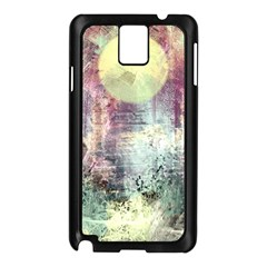 Frosty Pale Moon Samsung Galaxy Note 3 N9005 Case (Black)