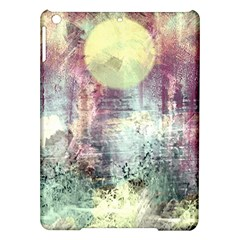 Frosty Pale Moon iPad Air Hardshell Cases