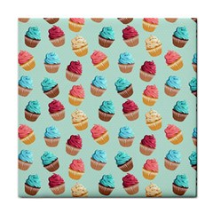 Cup Cakes Party Tile Coasters