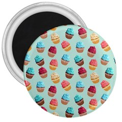 Cup Cakes Party 3  Magnets