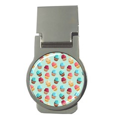 Cup Cakes Party Money Clips (round)