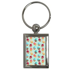 Cup Cakes Party Key Chains (rectangle)