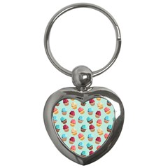 Cup Cakes Party Key Chains (Heart)