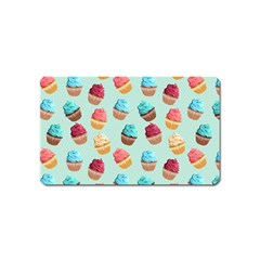 Cup Cakes Party Magnet (name Card)