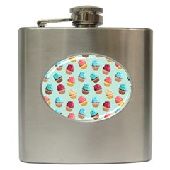 Cup Cakes Party Hip Flask (6 oz)