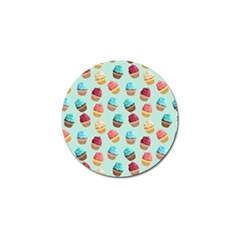Cup Cakes Party Golf Ball Marker (4 Pack)