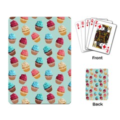 Cup Cakes Party Playing Card