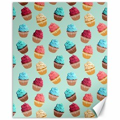 Cup Cakes Party Canvas 16  X 20