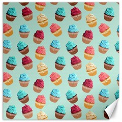 Cup Cakes Party Canvas 20  X 20