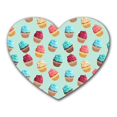 Cup Cakes Party Heart Mousepads