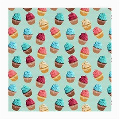 Cup Cakes Party Medium Glasses Cloth (2 Side)