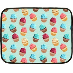 Cup Cakes Party Double Sided Fleece Blanket (mini)