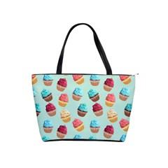 Cup Cakes Party Shoulder Handbags