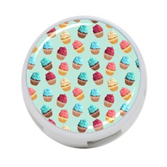 Cup Cakes Party 4-Port USB Hub (One Side)