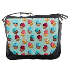 Cup Cakes Party Messenger Bags