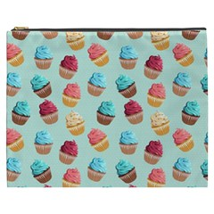 Cup Cakes Party Cosmetic Bag (XXXL)