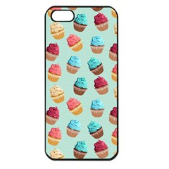 Cup Cakes Party Apple iPhone 5 Seamless Case (Black)