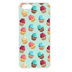 Cup Cakes Party Apple iPhone 5 Seamless Case (White)