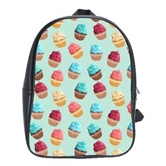 Cup Cakes Party School Bags (XL)