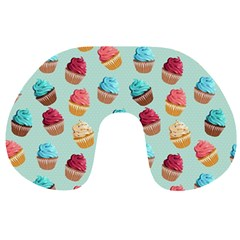 Cup Cakes Party Travel Neck Pillows