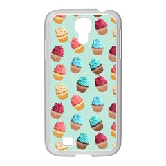 Cup Cakes Party Samsung GALAXY S4 I9500/ I9505 Case (White)
