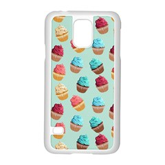 Cup Cakes Party Samsung Galaxy S5 Case (White)