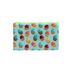 Cup Cakes Party Cosmetic Bag (XS)