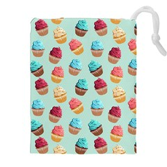 Cup Cakes Party Drawstring Pouches (XXL)