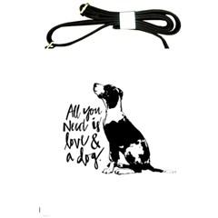 Dog Person Shoulder Sling Bags