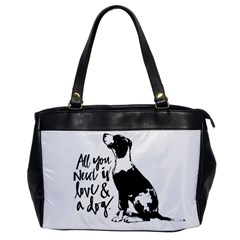 Dog person Office Handbags