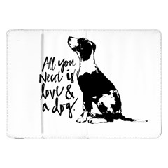 Dog person Samsung Galaxy Tab 8.9  P7300 Flip Case