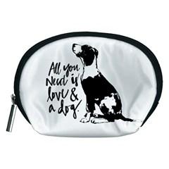 Dog person Accessory Pouches (Medium)