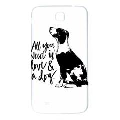 Dog person Samsung Galaxy Mega I9200 Hardshell Back Case