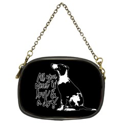 Dog person Chain Purses (Two Sides)