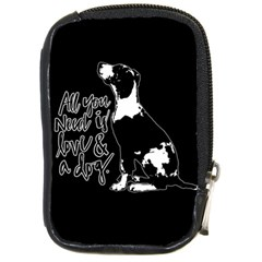 Dog person Compact Camera Cases