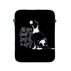 Dog person Apple iPad 2/3/4 Protective Soft Cases
