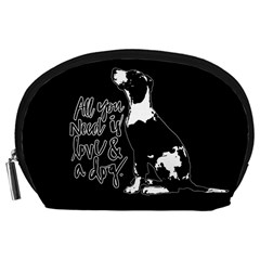 Dog person Accessory Pouches (Large)