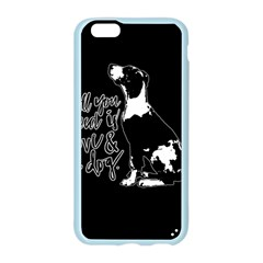 Dog person Apple Seamless iPhone 6/6S Case (Color)