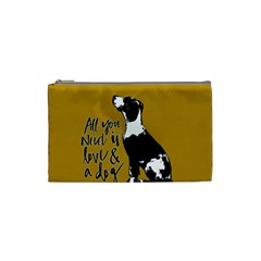 Dog person Cosmetic Bag (Small)