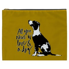 Dog person Cosmetic Bag (XXXL)